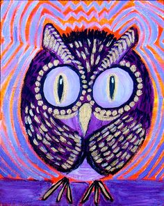 https://flic.kr/p/9MMwL6   Purple Round Owl   Don't mess with this bird…
