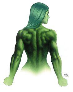 She-Hulk •Frank Cho