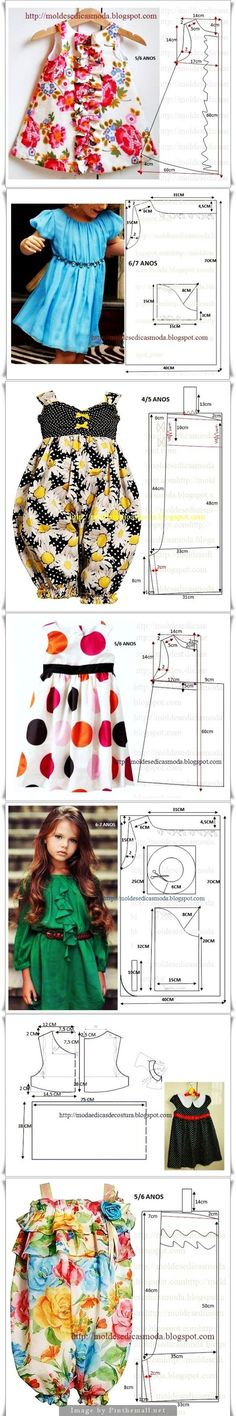 Super sewing for kids clothes little girl dresses simple 22 ideas Little Dresses, Little Girl Dresses, Girls Dresses, Baby Dresses, Girl Dress Patterns, Clothing Patterns, Sewing For Kids, Baby Sewing, Sewing Clothes