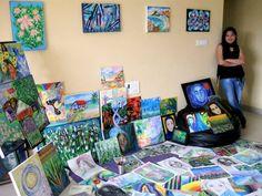 https://www.facebook.com/artspiritandme #mataji #painting #intuitive #artandspirituality #filipino #artist #abstract #portrait #nature