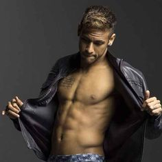 "In addition to being good at soccer, Neymar is especially skilled at removing the unnecessary item of clothing known as ""the shirt."" 