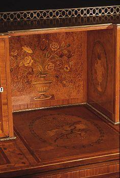 Detail Desk (Bonheur du jour) Date: ca. 1780–90 Culture: British Medium: Wood…