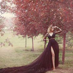 Wedding Dress Black, Black Wedding Cakes, Wedding Dresses For Girls, Tulle Wedding, Dream Wedding, Halloween Wedding Dresses, Black Halloween Dress, Goth Wedding Dresses, Halloween Weddings