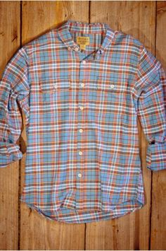 Two Pocket Style Flannel for Men - Montana Plaid