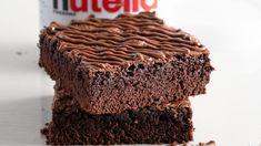 Vrijdag wordt 's werelds meest geliefde hazelnootpasta in het zonnetje gezet. Op 5 februari is het Wereld Nutella Dag, bedacht door de Amerikaanse blogger Sara Rosso in 2007. Nutella, Desserts, Tailgate Desserts, Deserts, Postres, Dessert, Plated Desserts