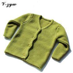 Cardigan Newborn Baby Wool Knitted