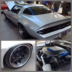 #BecauseSS What about this camaro chevy ls9 pro touring niche old school hotrod sema grey silver brushed machined