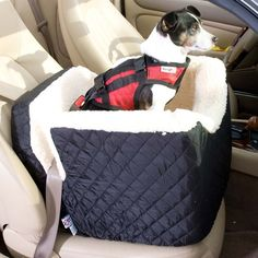 Snoozer Lookout Pet Car Seat at Brookstone—Buy Now!