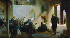 Among The Teachers by Vasiliy Polenov