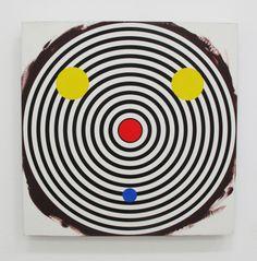 Michael Scott - Untitled, 1999, peinture émail sur aluminium, 76 x 76 cm