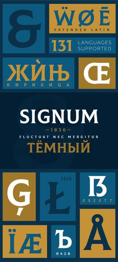 Colus Font Letters and Numbers