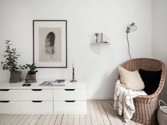 my scandinavian home: A charming, small Swedish flat with Autumn touches