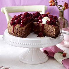 Luftige Mousse-au-Chocolat-Torte Rezept | LECKER
