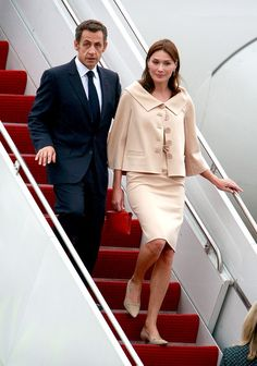 Carla Bruni-Sarkozy Photos - World Leaders Gather For G20 Summit In Pittsburgh - Zimbio