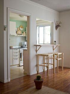 Casa Chaucha » Aire y luz || La misma distribución que mi casita! el piso me encanta y el despoje, con un bebe tengo todo abarrotado...