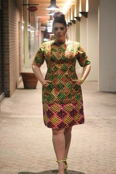 Fabulous Ankara African Print Styles For Plus Size Women african_print_colorful_patches_ivie_skirt_afrocosmopolitan Short African Dresses, Latest African Fashion Dresses, African Print Dresses, African Print Fashion, Fashion Prints, Africa Fashion, Ankara Fashion, Tribal Fashion, African Prints