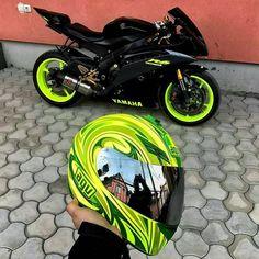 #Motorcycle #YamahaYZFR1 #YamahaYZFR6 #Suzuki Tire, Sport bike, Helmet, AGV - Follow #extremegentleman for more pics like this!