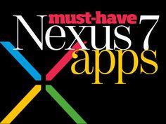 Google Nexus 7 apps
