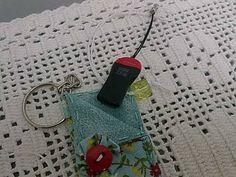 Chaveiro porta pen drive ! Em tecido , forrado com manta , é um verdadeiro charme pra você guardar o com  segurança o seu pen drive. R$ 10,00