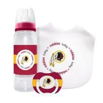 Washington Redskins Baby Gift Set: Kickoff Collection 3-Piece Baby Feeding Set
