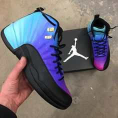 Air Jordan 12 Retro Ombre Gradient - – B Street Shoes Cute Jordans, Jordans Girls, Air Jordans, Retro Jordans, Jordans For Kids, Outfits With Jordans, Shoes Jordans, Jordan Shoes Girls, Air Jordan Shoes