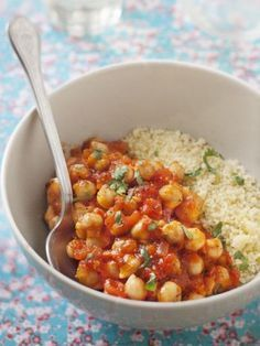 Eat Stop Eat To Loss Weight - Semoule aux pois chiches et à la tomate Plus - In Just One Day This Simple Strategy Frees You From Complicated Diet Rules - And Eliminates Rebound Weight Gain Veggie Recipes, Vegetarian Recipes, Healthy Recipes, Diet Recipes, Healthy Cooking, Healthy Eating, Cooking Recipes, Stop Eating, Clean Eating