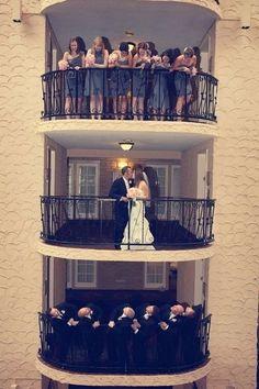 Ideias criativas para as fotos de casamento: