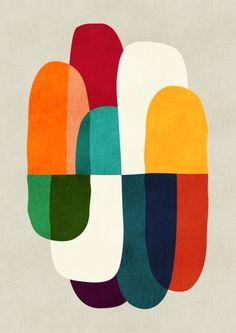Design illustration pattern art prints 26 ideas for 2019 Art Inspo, Kunst Inspo, Painting Inspiration, Art And Illustration, Illustrations, Art Encadrée, Silkscreen, Art Abstrait, Art Moderne