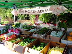 """""""Pemberton's North Arm Farm at the #Whistler Farmers Market every Sunday in the Summer. Try the beets, they're so sweet!"""" #explorebc"""