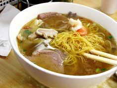 Teo Chew Egg Noodle Soup at Grand Bo Ky, NY. (Photo by: wEnDaLicious)