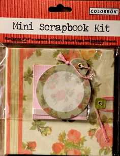 Colorbok Antique Rose Mini Scrapbook Kit is available at Scrapbookfare.