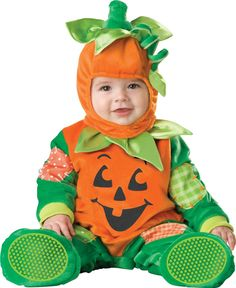 6 month old boy halloween costumes | pumpkin costume for baby boys a new spin on a pumpkin baby costume ...