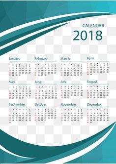 O modelo de negócios calendário Verde de 2018