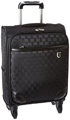 Beverly Hills Country Club Frankfort 22 Spinner Luggage Black -- More info could be found at the image url.