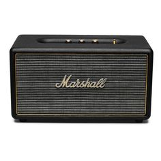 Pretty cool that Marshall Stanmore released a Wireless Bluetooth Digital Speaker Loudspeaker Audio System for the consumer market.