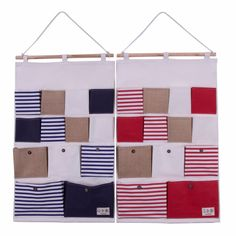 Large Stripe Wall Organizers (2pc-set), 20% discount @ PatPat Mom Baby Shopping App