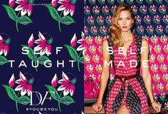 Karlie Kloss in DVF's spring/summer 2016 ad campaign