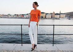 Dropbox - orange shirt, white capri pants, black pumps.jpg