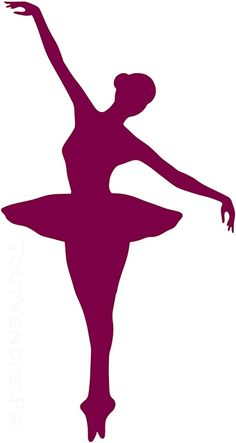 Sticker Mural Danse - Danseuse 02
