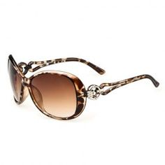 Stylish Circular Ring Matching Design Hollow Out Sunglasses For Women (RANDOM COLOR PATTERN) | Sammydress.com Mobile