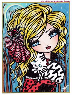 Mermaids, Fairies & Other Girls of Whimsy - Hannah Lynn #hannahlynn…