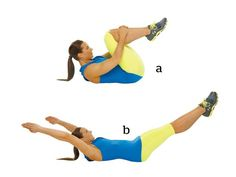 The Most Effective 8-Minute Workout You'll Ever Try: 9. Pilates Double-Leg Stretch http://www.prevention.com/fitness/fitness-tips/8-minute-metabata-workout?s=10&?cm_mmc=Spotlight-_-1662772-_-04152014-_-8-minute-metabata-workout-body