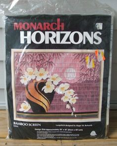 Monarch Horizons Bamboo Screen Longstitch Kit Roger Reinardy Needlepoint  Orient  MonarchHorizons Bamboo Screening, Discount 6eae461354