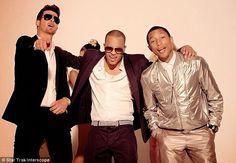OlafancyTV               : Pharrell Williams denies copied Marvin Gaye song  ...