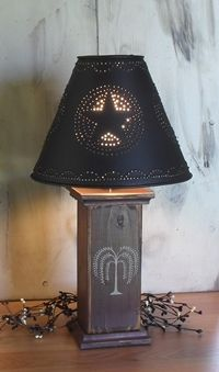 Primitive Country Lamps | Decor - Table Lamps - Country Quackers ...