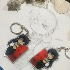 Chibi Judal Keychain (Magi) by Karen's shop Height : 6.5 cmWidth : 3.5 cm