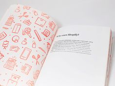 Shopify just launched Checkout. The Shopify Story. – our new employee handbook. @mandira midha and I had the pleasure of designing the book and @Veronica Wong helped us out with her beautiful hand ...