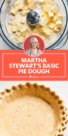 I Tried Martha Stewart's Basic Pie Dough I Tried Martha Stewart's Basic Pie Dough — Celebrity Recipe Showdown Apple Pie Crust, All Butter Pie Crust, Easy Pie Crust, Homemade Pie Crusts, Pie Crust Recipes, Apple Pie Recipes, Sweet Pie Crust Recipe, Quiche Crust Recipe, Pastry Dough Recipe