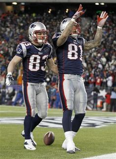 Gone are the days of welker and hernandez....ones a bronco and ones in jail...i dont know which is worse!