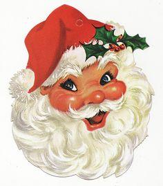 Jolly Santa by Calsidyrose, via Flickr
